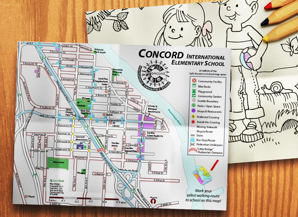 Concord map and drawing