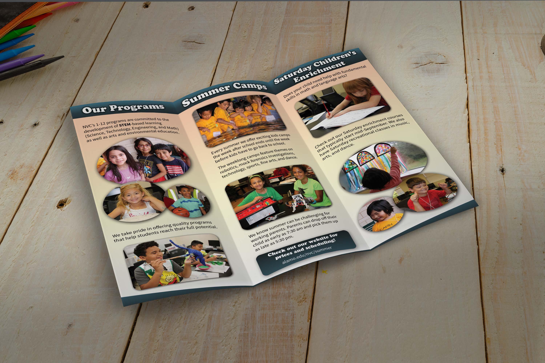 Summer Programs, brochure inside