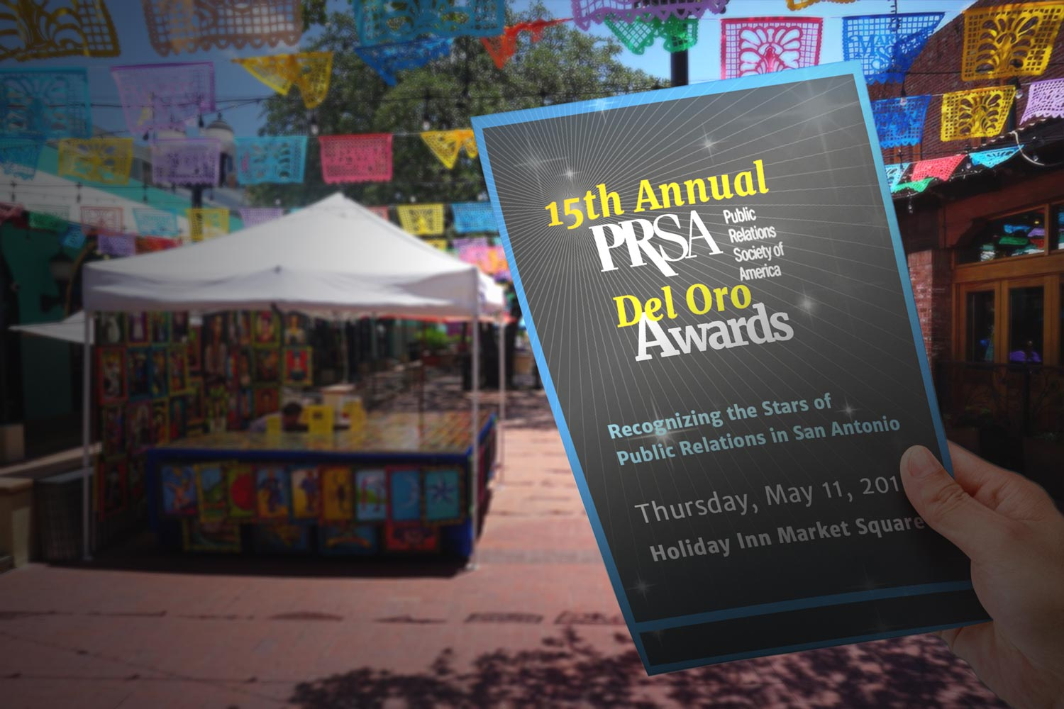 15th Annual PRSA Del Oro Awards Flyer